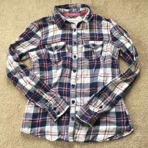 Aero Plaid Button Down Shirt